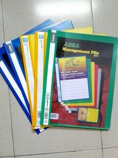 A4 sized files