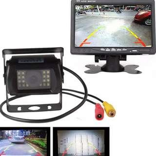 Car Can Truck Lorry Rear Reverse Camera, LCD - New, Option to Choose Designs