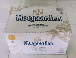 Brand New Sealed Hoegaarden 24 bottles x 330ml