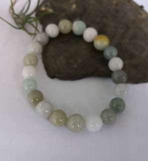 Jadeite bead bracelet