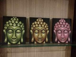 Vintage Buddha paintings
