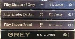Fifty Shades of Grey Set