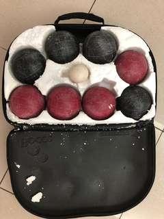 Bocce ball/boule/petanque set