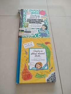 Preloved Amelia diary book comics