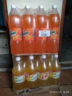 F&N and  Miranda soft drinks