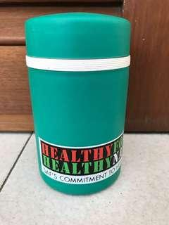 SAF green tumbler for hot/cold food Brand New