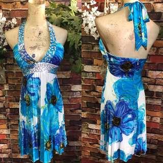 Padded korean dress size s-med