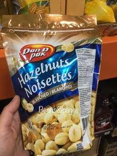 Dan d Pak Hazelnuts Noisettes Blanched 425g