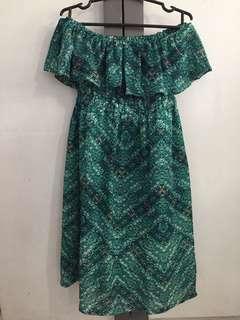 Off Shoulder Maternity Dress