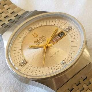 BULOVA SUPER SEVILLE Automatic Mechanical Watch (寶路華 SUPER SEVILLE 自動機械手錶)
