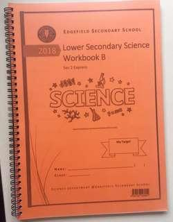 Edgefield Secondary 2 Express Science workbook B