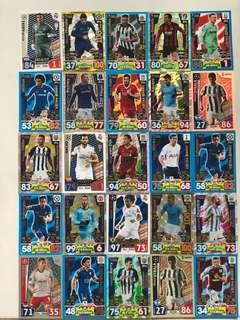 Match attax cards for sale