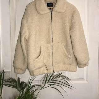 Cotton on Teddy bear jacket