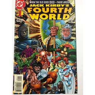 JACK KIRBY'S FOURTH WORLD nos 1, 2 & Gallery (offer item no 056)