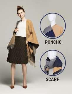 2 way reversible scarf