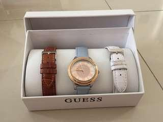 Guess Watch (3 straps)