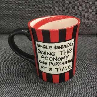 Mug with hand painted art