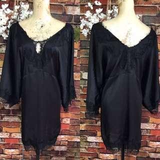 MNG silk dress size s-med