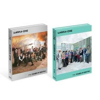(NONPROFIT) WANNA ONE POWER OF DESTINY ALBUM