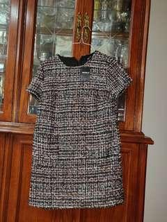 Brand new, unused WITH TAGS tweed dress forever21 this season!!!