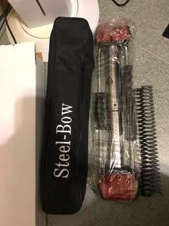 Steel-bow