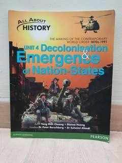 All about History Unit 4 Decolonization & Emergence of Nation States
