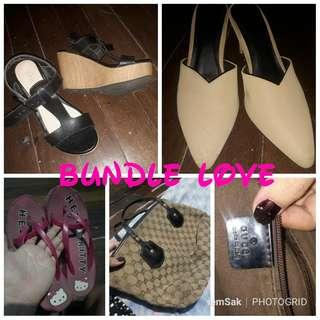 Bundle shoes plus bag!! Sale or swap