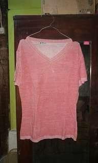 Knit Pink vneck