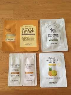 BN Skinfood sample(4pcs)