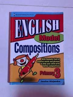 English compo book for Primary 3