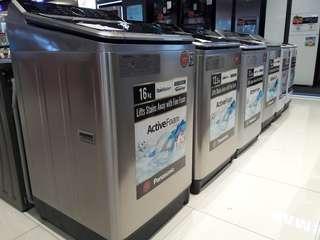 Panasonic Topload Washers (Brand New)