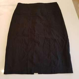 Portmans size 10 Black work skirt