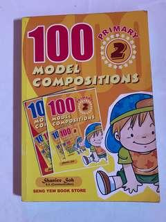 English compo book for Primary 2
