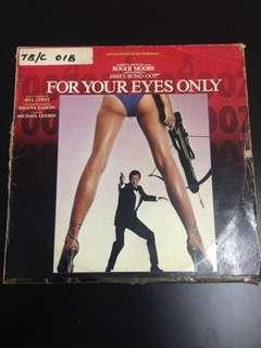 LP for your eyes only soundtrack