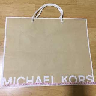 Michael Kors M size paperbag