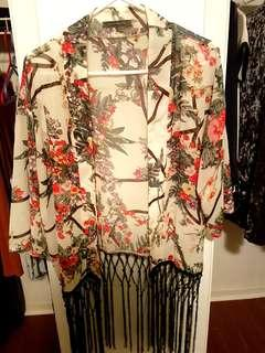 Kimono Style Coverup