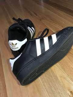 Black adidas originals