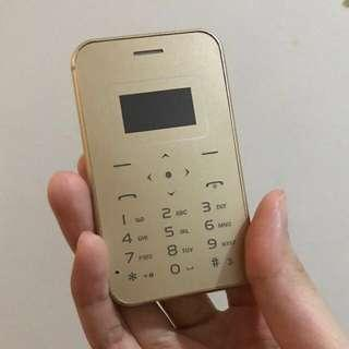 Aiek Gold card phone