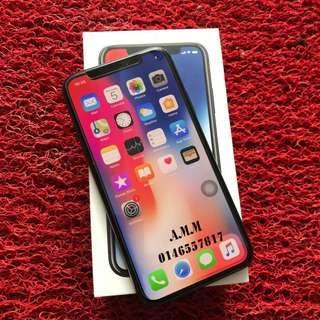 iPHONE X 256GB GREY FULLSET