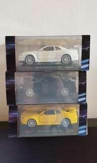 Saico Fast & Furious 4 Nissan Skyline GTR Diecast 32:1