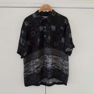 Vintage Graphic Short Sleeve Shirt