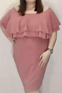 Plus size offshoulder dress xxl-xxxxl