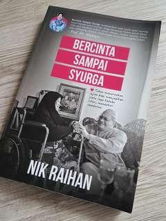 Pre-loved book Bercinta Sampai Syurga oleh Nik Raihan