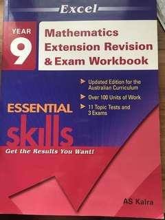 Year 9 mathematics revision book