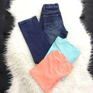 Boys bundle jeans tee rm20 bundle tops bundle t-shirt