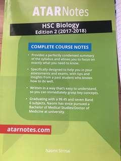 Atar notes biology HSC text book