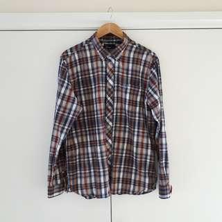 Fred Perry Tartan Button Down