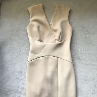 Fresh soul nude maxi formal dress