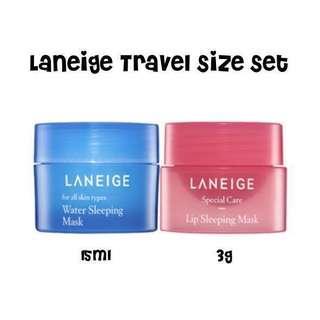 ✨INSTOCK! Laneige Mini Travel Set
