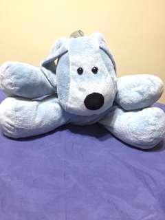 🚚 Blue doggie stuffed toy